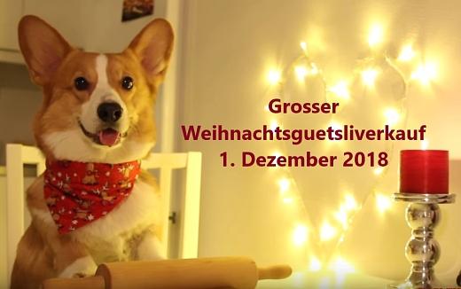 Weihnachtsguetzliverkäufe in Rümlang ZH und Heimberg BE