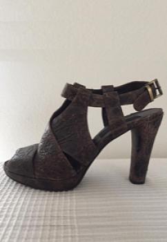 Leder Sandaletten