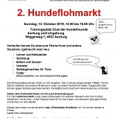 Flohmarkt So. 13. Okt. 2019